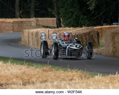 Goodwood Festival of Speed 2019 From pre-war Grand Prix veterans to the latest and greatest road and racing cars, some very special machines have been - Stock Image