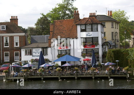 The Angel Public House Henley on Thames Oxfordshire UK - Stock Image