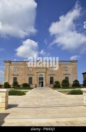 Villa Bighi at the Maltese interactive science museum of Esplora. - Stock Image
