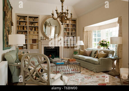 Georgian style living room - Stock Image