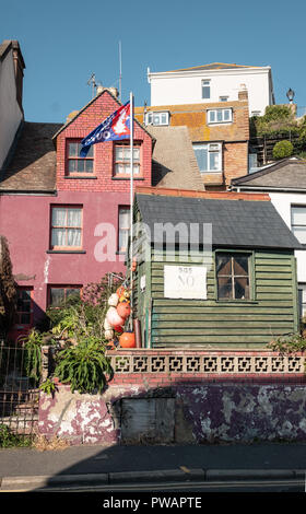 Rock-a-Nore Road, Old Town, Hastings, East Sussex, uk - Stock Image