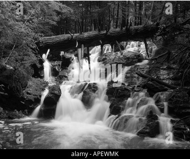 Waterfall, Monkton, Vermont, USA - Stock Image