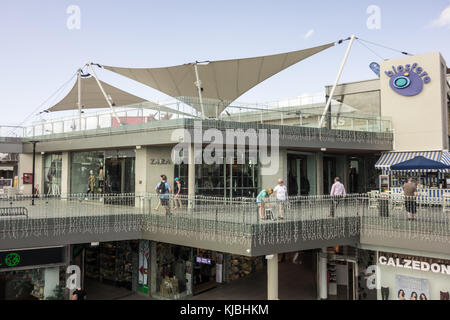 LANZAROTE, SPAIN-4th Nov 2017: Zara is one of the major fashion brands situated at the Biosfera Plaza shopping centre - Stock Image