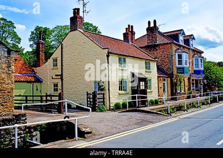THornton Le Dale, North Yorkshire, England - Stock Image