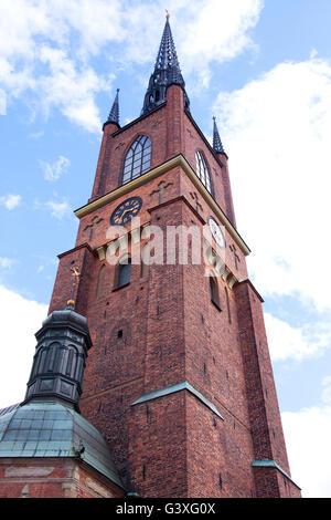 Stockholm Riddarholmskyrkan - Stock Image