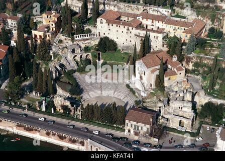 Teatro Romano Verona Veneto - Stock Image