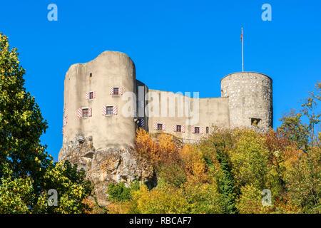 Castle Alt-Falkenstein, Balsthal, Solothurn, Switzerland - Stock Image