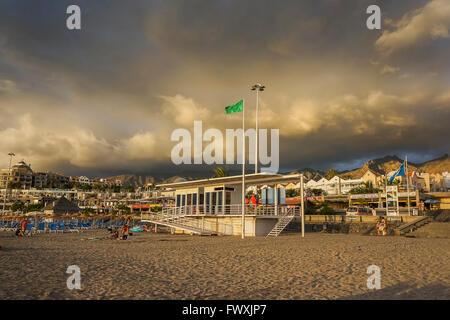 Beach Las Americas. Tenerife - Stock Image