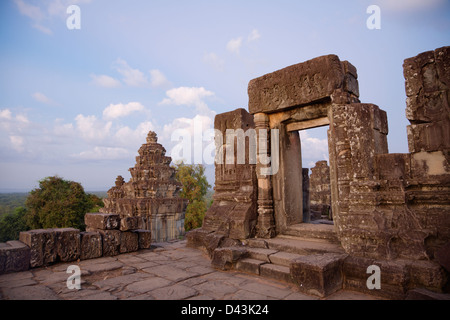 Phnom Bakheng ruins, Angkor, Cambodia - Stock Image