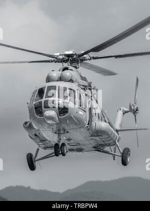 Croatian Air Force Mi-8 MTV-1 helicopter - Stock Image