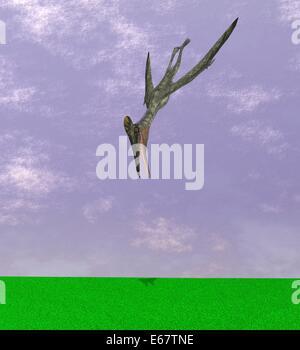 Dinosaurier Pterodactylus / dinosaur Pterodactylus - Stock Image