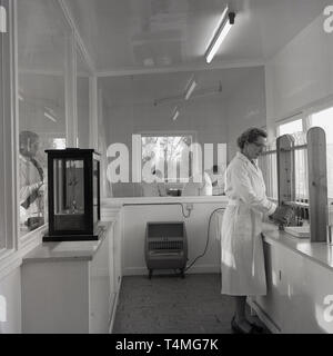 1950s, research labarotary - Stock Image