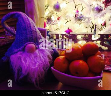 Christmas comforts. - Stock Image