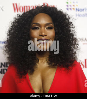 Women's Day celebrates 16th Annual Red Dress Awards held at The Appel Room at Frederick P. Rose Hall, at the Lincoln Center  Featuring: Angela Bassett Where: New York, New York, United States When: 12 Feb 2019 Credit: Derrick Salters/WENN.com - Stock Image