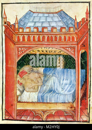 'Tacuinum Sanitatis', Coitus - Stock Image