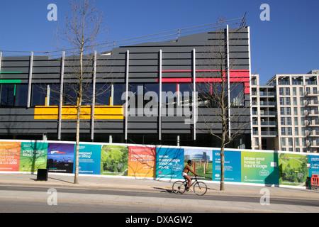 East Village Olympic Park Stratford London - Stock Image