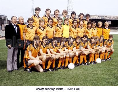 SEASON 1979/1980 DUNDEE UTD Dundee Utd team picture - Stock Image