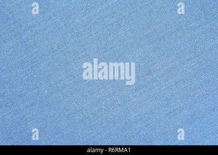Abstract blue fabric texture background. Book cover - Stock Image
