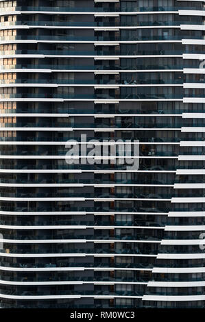 Apartment building in Gold Coast. - Stock Image