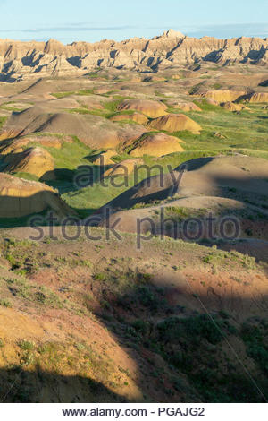 Badlands National Park, South Dakota - Stock Image