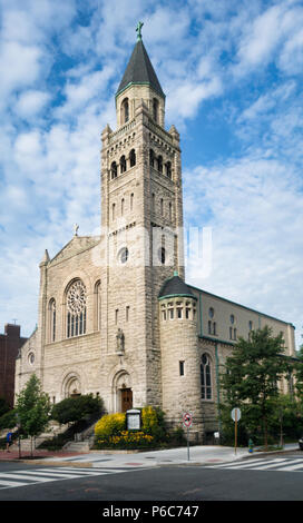St. Peter's Church on Capitol Hill is a Roman Catholic Church located in the Capitol Hill neighborhood of Washington, District of Columbia, USA - Stock Image