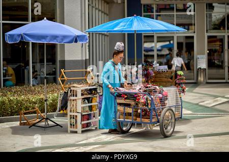 Thailand street vendor - Stock Image