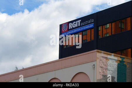Royal Gurkhas Institute of Technology building in Hobart, Tasmania, Australia. No PR - Stock Image