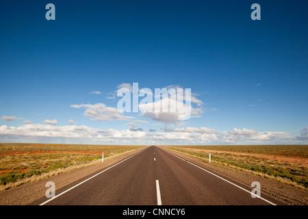 Stuart Highway Pimba South Australia - Stock Image