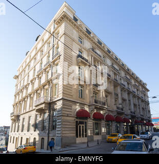 The Pera Palace Hotel in Beyoglu Istanbul Turkey - Stock Image