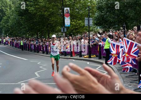 Marathon at London 2012 Olympics - Stock Image