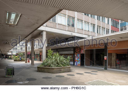 St George's Walk Shopping Arcade, Croydon - Stock Image