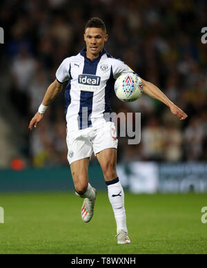 West Bromwich Albion's Kieran Gibbs during the Sky Bet Championship, Play-Off, Second Leg match at The Hawthorns, West Bromwich. - Stock Image