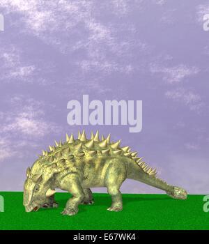 Dinosaurier Talarurus / dinosaur Talarurus - Stock Image