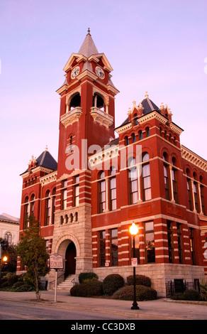 Wilmington, North Carolina, NC. New Hanover County Courthouse. - Stock Image