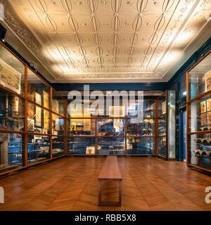Japan Museum SieboldHuis Leiden, Japan Museum Siebold Huis, the house and now museum of  Von Siebold, initiator of Japan studies at Leiden University. - Stock Image
