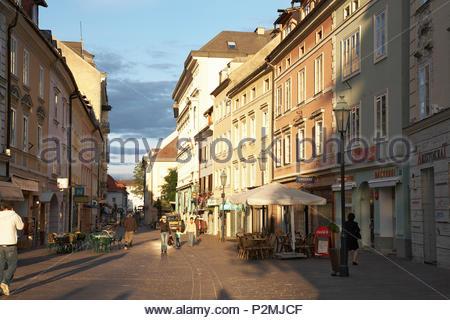 Europe, Austria, Klagenfurt, Alter Platz - Stock Image