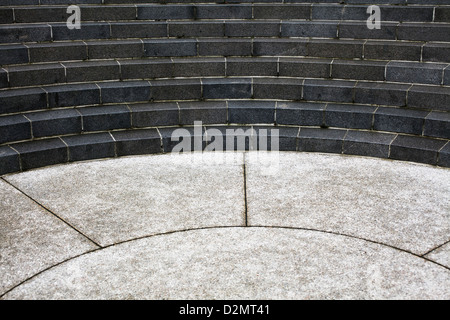 amphitheater in park - Stock Image