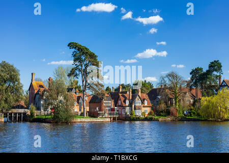 Beaulieu village, New Forest, UK. - Stock Image
