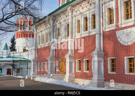 Novodevichy Convent, Moscow, Russia - Stock Image