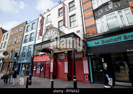 The Olympia Theatre Dame Street Dublin Republic of Ireland Europe - Stock Image