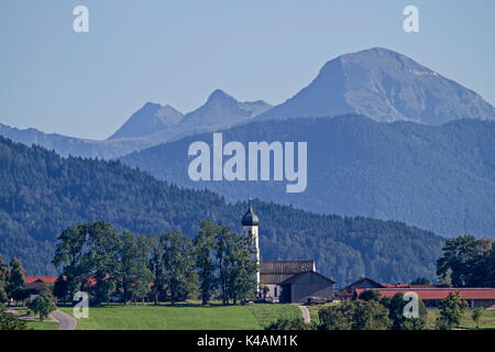 The Idyllic Village Of Gaissach - Stock Image