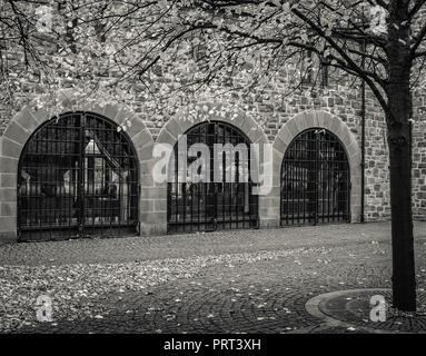 Three windows - Stock Image