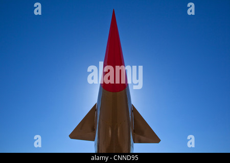 Woomera Missile, Airforce and Space display. South Australia. - Stock Image