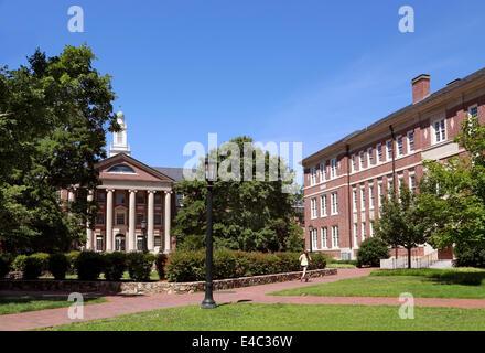University of North Carolina at Chapel Hill, UNC, campus. - Stock Image