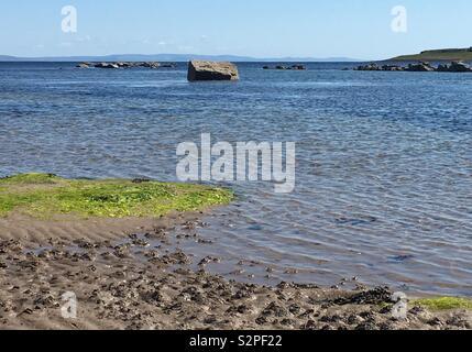 Kildonan, Arran. - Stock Image