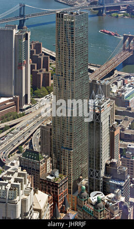 Beekman Tower in Downtown Manhattan - Stock Image