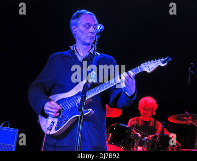 Tom Verlaine in concert Manchester Academy 17/11/2013 England tour , UK with seminal band Television - Stock Image