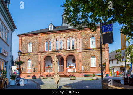City Hall in Geisenheim, Germany. 9. July 2017. - Stock Image