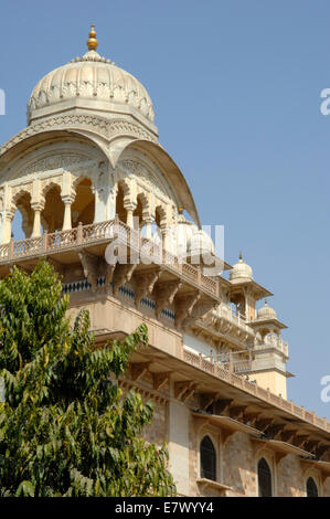 The Albert Hall in Jaipur housing the Central Museum - Stock Image