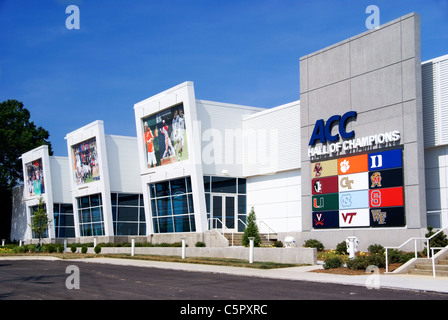 Hall of ACC Champions, Greensboro, NC, North Carolina - Stock Image